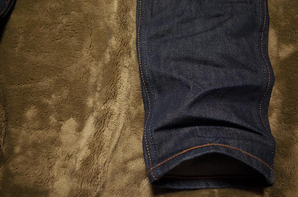 リーバイス606LVC60年代オレンジタブ 裾クッション