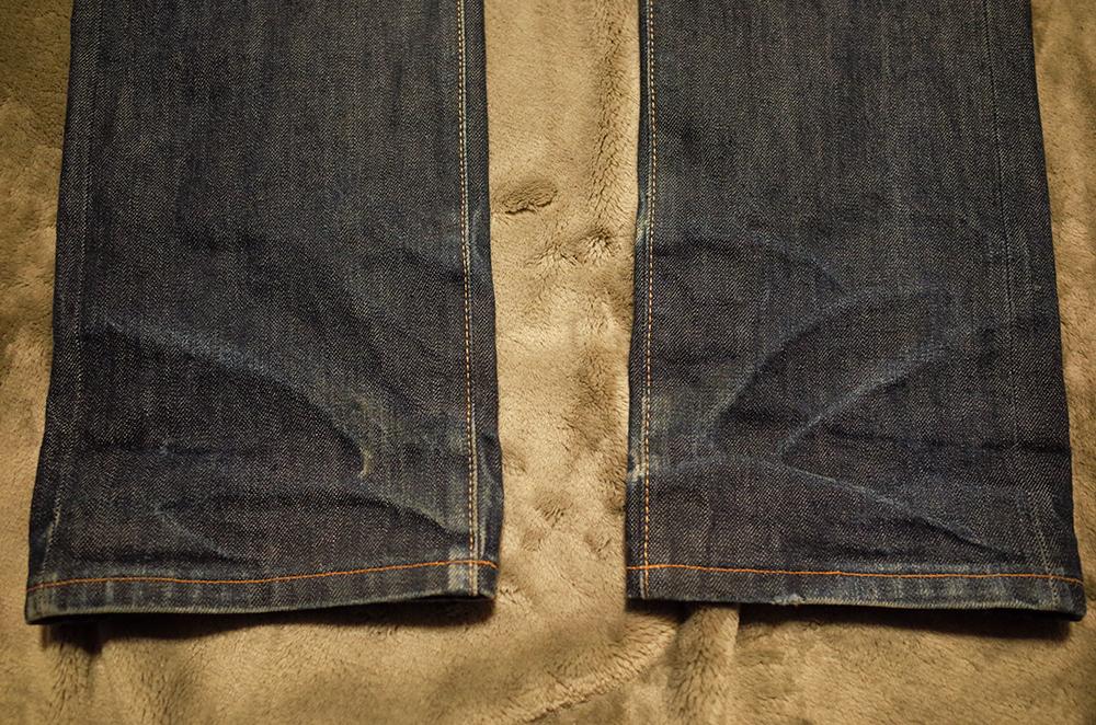 LVC505 トルコ製リジッド 裾
